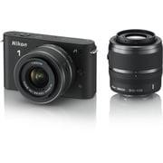 Nikon 1 J1 [ニコン1<ONE> レンズ交換式アドバンストカメラ ダブルズームキット 1 NIKKOR VR 10-30mm f3.5-5.6+1 NIKKOR VR 30-110mm f/3.8-5.6 ブラック]