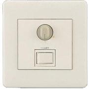 NQ21535Z [ライトコントロール 信号線式(LED・インバータ蛍光灯用)ロータリー式 フルカラーモダンプレートタイプ]