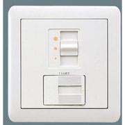 NQ21592Z [ライトコントロール 信号線式(LED・インバータ蛍光灯用)スライド式 コスモシリーズワイド21 ラウンドプレートタイプ]