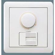 NQ21595Z [ライトコントロール 信号線式(LED・インバータ蛍光灯用)ロータリー式 コスモシリーズワイド21 ラウンドプレートタイプ]