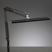 Z-80B [LED Z-LIGHT ショートアームスタンド ブラック (白熱灯150W相当)]
