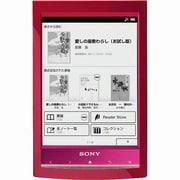 PRS-T1 R [Reader<リーダー> 6型 電子書籍リーダー レッド Wi-Fiモデル]