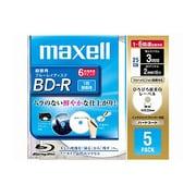 BR25VFWPC.5S [録画用BD-R 追記型 片面1層 25GB 1-6倍速 インクジェットプリンタ対応 ホワイト 5枚]
