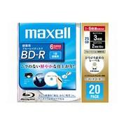 BR25VFWPC.20S [録画用BD-R 追記型 片面1層 25GB 1-6倍速 インクジェットプリンタ対応 ホワイト 20枚]