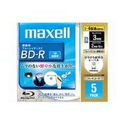 BR25VFWPB.5S [録画用BD-R 追記型 片面1層 25GB 1-4倍速 インクジェットプリンタ対応 ホワイト 5枚]