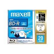BR25VFWPB.20S [録画用BD-R 追記型 片面1層 25GB 1-4倍速 インクジェットプリンタ対応 ホワイト 20枚]