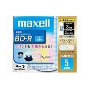 BR25VFWPMB.5S [録画用BD-R 追記型 片面1層 25GB 1-4倍速 インクジェットプリンタ対応 MIX 5枚]