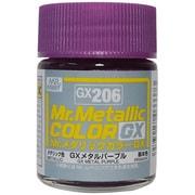 GX206 [GXメタルパープル Mr.メタリックカラーGXシリーズ]
