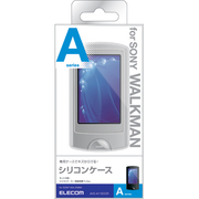 AVS-A11SCCR [SONYウォークマンA860シリーズ用シリコンケース 液晶保護フィルム付 クリア]
