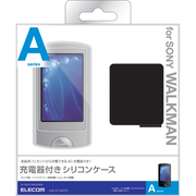 AVS-A11ACCR [SONYウォークマンAシリーズ用充電器付きシリコンケース 液晶保護フィルム付 クリア]