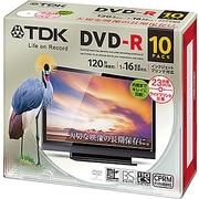 DR120DPWC10UE [録画用DVD-R 120分 1-16倍速 CPRM対応 インクジェットプリンタ対応 10枚]