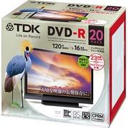 DR120DPWC20UE [録画用DVD-R 120分 1-16倍速 CPRM対応 インクジェットプリンタ対応 20枚]