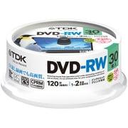 DRW120DPWA30PU [録画用DVD-RW 120分 1-2倍速 CPRM対応 30枚 インクジェットプリンタ対応]