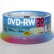 DRW120DMA20PUE [録画用DVD-RW 120分 1-2倍速 CPRM対応 20枚]