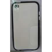 F8W009ebC00 [iPod touch 第4世代対応 グリップキャンディーTPUケース ホワイトアウト/ブラックトップ]