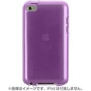 F8W013ebC01 [iPod touch 5G対応 クリアグリップビューTPUケース パープル]