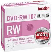 DVDRW120PWAC10PAIM [録画用DVD-RW 120分 2倍速 CPRM対応 インクジェットブリンタ対応 10枚パック]