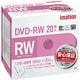 DVDRW120PWAC20PAIM [録画用DVD-RW 120分 2倍速 CPRM対応 インクジェットブリンタ対応 20枚パック]