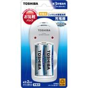 TNHC-32LS [ニッケル水素充電器セット 単3形電池用 単3形ニッケル水素電池2本付 最大2本まで充電可能]
