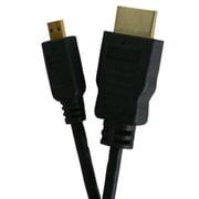FVC-CIMDH20 [HDMI-マイクロHDMIケーブル 2m ブラック ハイスピード イーサネット対応 3D映像対応 Ver.1.4]