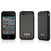 PH10081-BK [New Phone Wave 4 iPhone4S/iPhone4 ブラック]