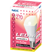 LDA5L-H [LED電球 E26口金 電球色相当 270lm LIFELED'S]