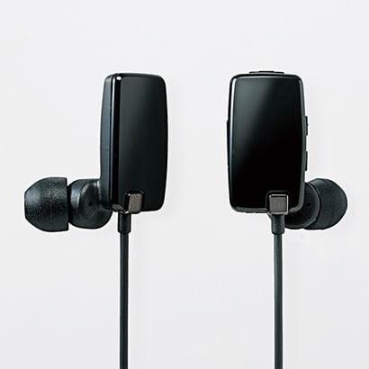 LBT-AVHP05BK [Bluetoothステレオイヤホン ブラック]