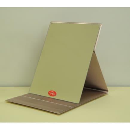HP-35(GD) [角度調整3段付きメタリックバージョン折立ミラー L ゴールド]