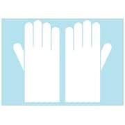 76632 薄手ゴム手袋 (子供サイズ) 6枚デコレーションシリーズ [タミヤデコレーションシリーズ]