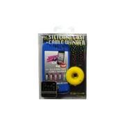 """RA-SC453C [第4世代iPod touch用シリコンケース+ケーブルワインダー """"SILICONE CASE+CABLE WINDER"""" シアンブルー]"""