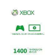 XboxLive 1400マイクロソフトポイントカード 56P-00304 [ライセンスカード]