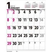 壁掛けスケジュール 縦型 [2012年カレンダー]