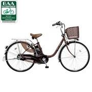 BE-ENE434T2 [電動アシスト自転車(24型) チョコブラウン リチウムビビ・EX ECONAVI(エコナビ)搭載]