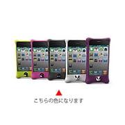 PH11011-BK [iPhone4S/4用シリコンケースBubble ブラック]