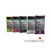 PH11011-PU [iPhone4S/4用シリコンケースBubble パープル]