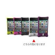 PH11011-W [iPhone4S/4用シリコンケースBubble ホワイト]