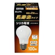 LW100V95W-W [白熱電球 長寿命シリカ電球 E26口金 100V 100W形(95W) 60mm径 ホワイト]