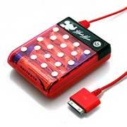 RX-DNYJK566MNE [iPhone/iPod用乾電池式充電器 ミニー]