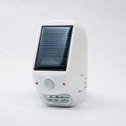 NL57WH [屋外用ソーラー式LEDセンサーライト]