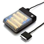 RX-JUK738DBK [iPhone/iPod対応 乾電池交換式携帯充電器 単3×4本タイプ  ブラック]