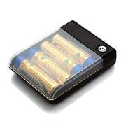 RX-JUK740UBK [USBポート搭載乾電池交換式携帯充電器 単3×4本タイプ  ブラック]