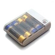 RX-JUK741UWH [USBポート搭載乾電池交換式携帯充電器 単3×4本タイプ  ホワイト]