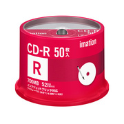 CDR80PWB50SAIM-YBC [データ用CD-R 700MB 52倍速対応 50枚 ホワイトワイドプリントレーベル ヨドバシカメラオリジナル]