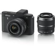 Nikon 1 V1 [ニコン1<ONE> レンズ交換式アドバンストカメラ ダブルズームキット 1 NIKKOR VR 10-30mm f3.5-5.6 +1 NIKKOR VR 30-110mm f/3.8-5.6 ブラック]