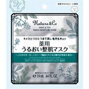 ネイチャーアンドコー ミント&ティー アクアモイスチュアマスク [1回分 19ml]