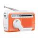 ICF-B03 D [FM/AMポータブルラジオ オレンジ 手回し充電対応]