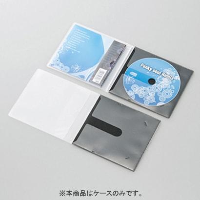 CCD-DPC30BK [CD用スリム収納ソフトケース 1枚収納 ブラック 30枚入]