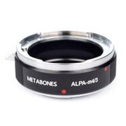 ALPA to m4/3 [マウントアダプター レンズ側:ALPA(アルパ) ボディ側:マイクロフォーサーズ ブラック]