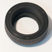 マウントアダプター レンズ側:M42 ボディ側:マイクロフォーサーズ 補助ヘリコイド付 [マウントアダプター レンズ側:M42 ボディ側:マイクロフォーサーズ 補助ヘリコイド付]