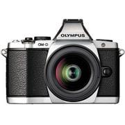 OLYMPUS OM-D E-M5 レンズキット [マイクロ一眼 ボディー シルバー+M.ZUIKO DIGITAL ED12-50mm F3.5-6.3 EZ ブラック]
